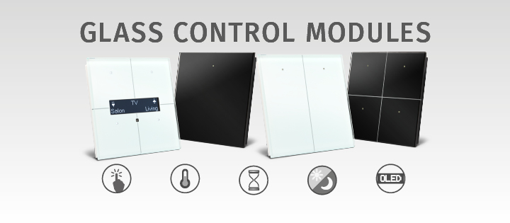 velbus glass control modules